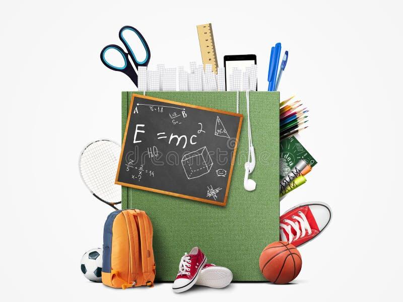 Educação ilustração stock