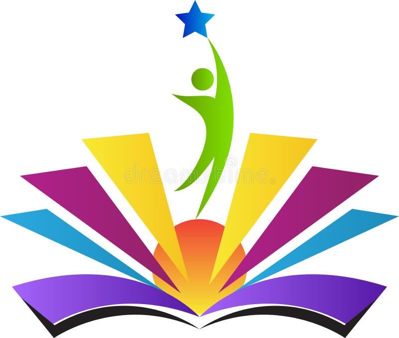 Educação brilhante ilustração royalty free