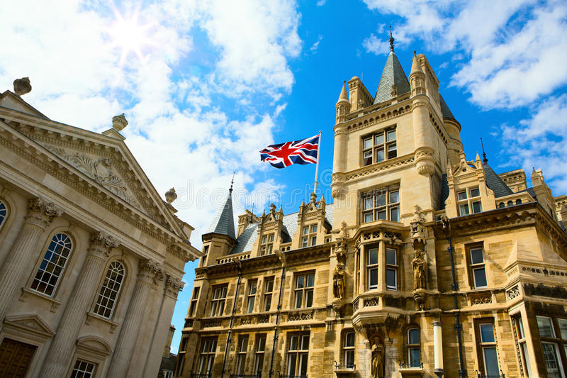 Educação Cambridge de Art University, Reino Unido fotos de stock
