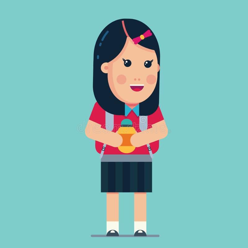 A educação de volta à escola caçoa /eps ilustração royalty free