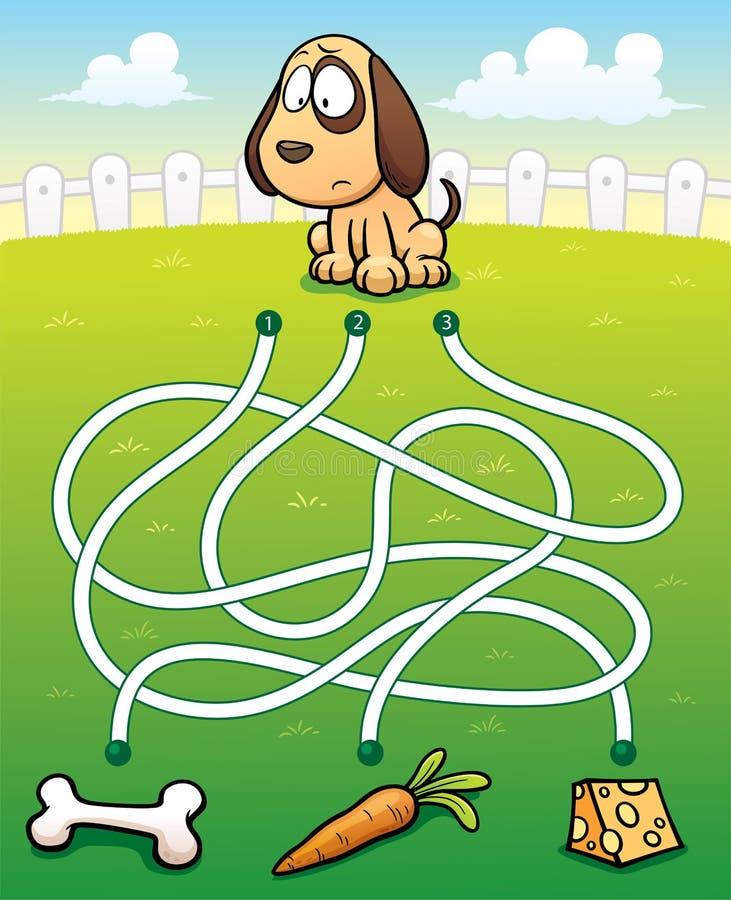 Educação Maze Game ilustração royalty free