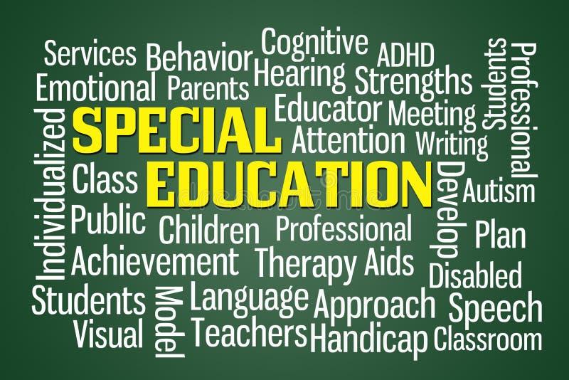 Educación especial ilustración del vector