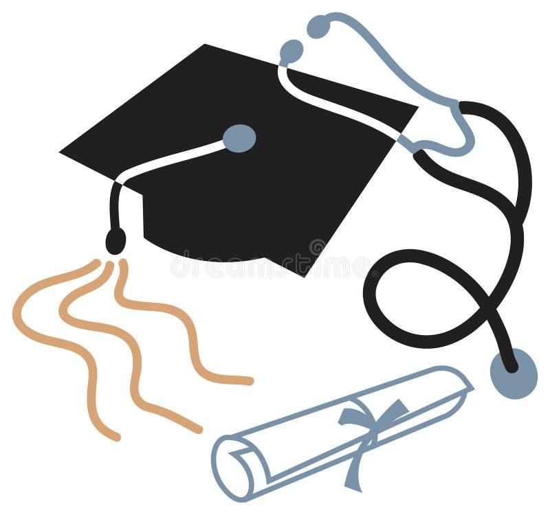 Educación médica stock de ilustración
