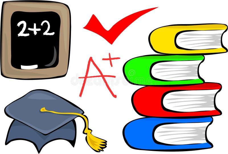 Download Education stock illustration. Image of pile, school, illustrations - 164988