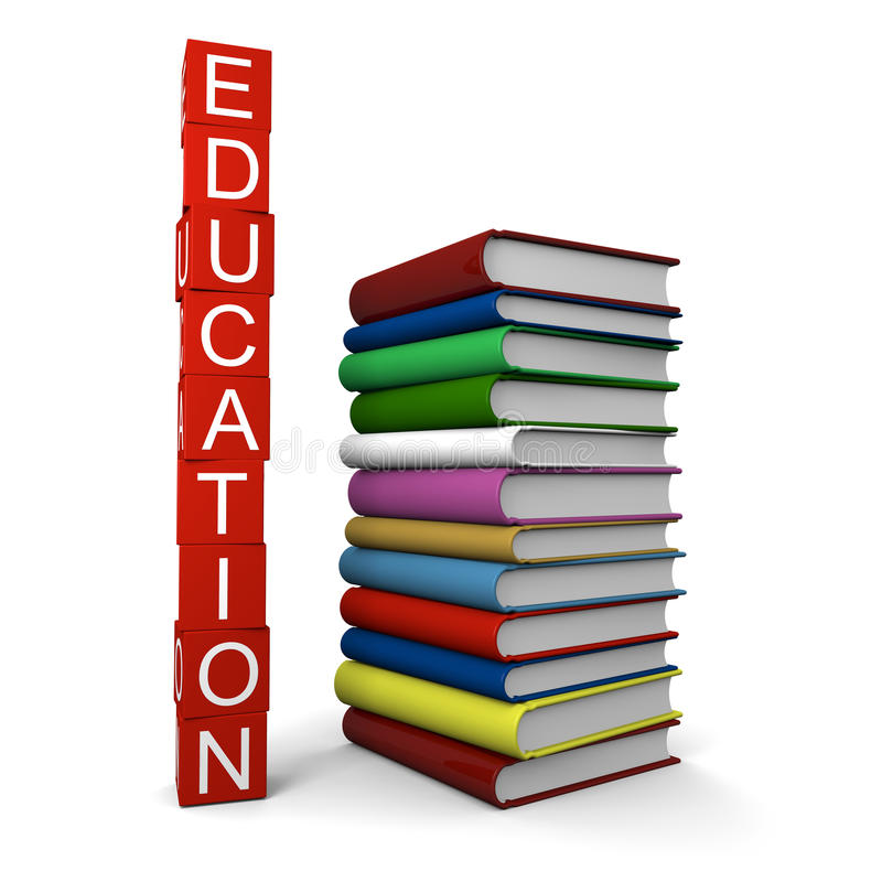Download Education stock illustration. Image of titles, colorful - 23761957