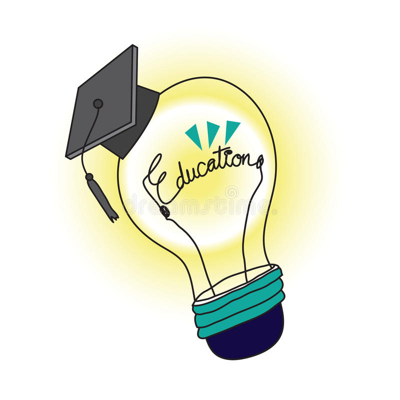 Download Education stock vector. Illustration of light, success - 9952709