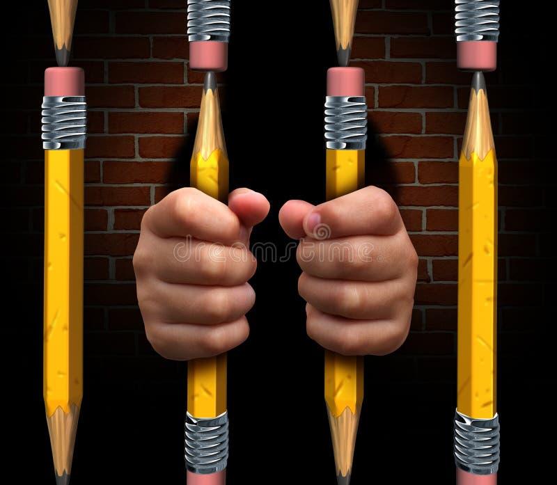 Education Access royalty free illustration