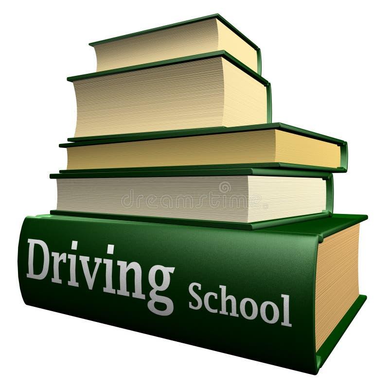 Education books - driving school stock photos