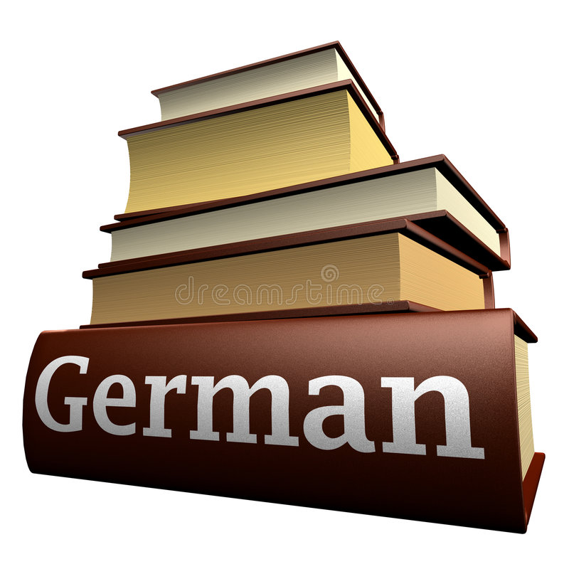 Education books - german stock images