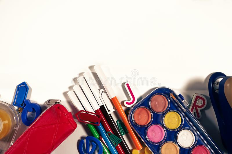 School and Office Tools royalty free stock photos
