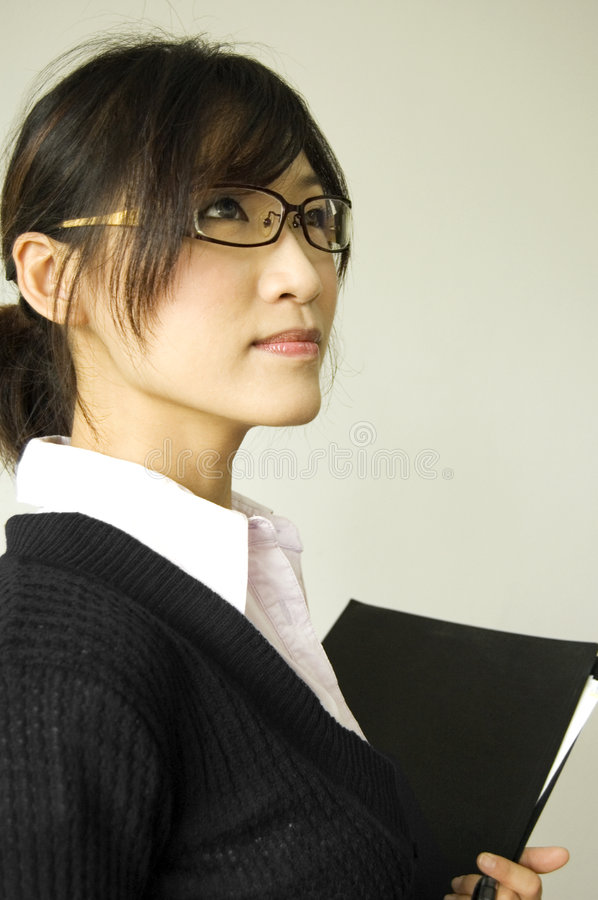 Education/business women royalty free stock images