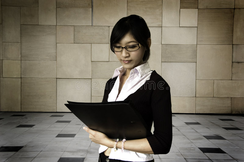 Education/business women royalty free stock photography