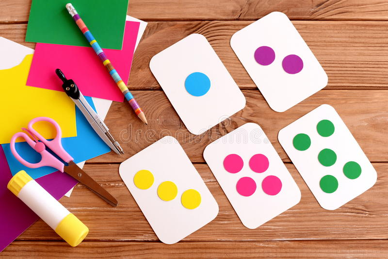Education Cards For Kids. Learning Colours. Teaching Children To ...