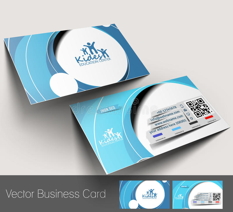 Free Education Center Business Card Stock Photography - 42574552