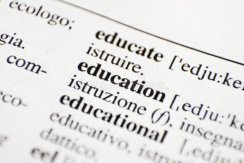 Download Education concept stock image. Image of letters, define - 24744435