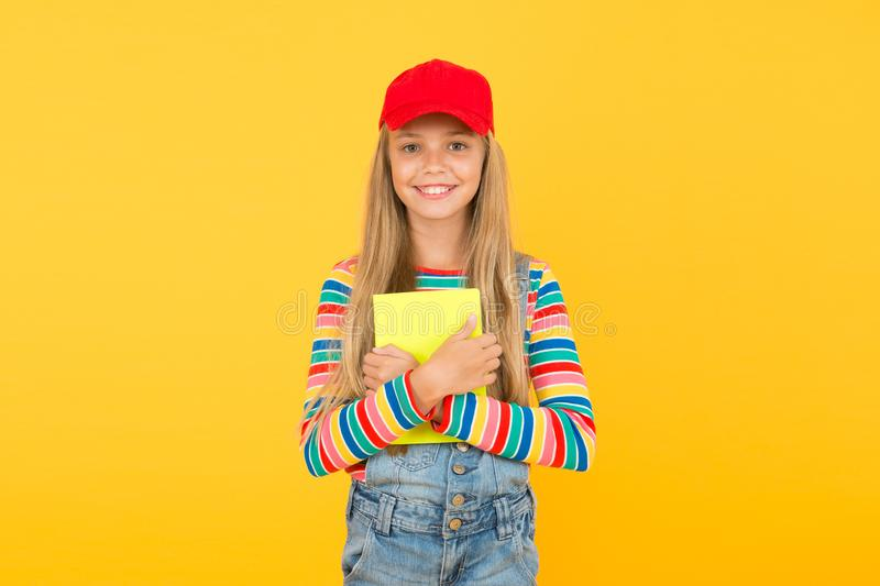 Education is fun. Education outside of structured curriculum. Informal education concept. Join school literature club royalty free stock photo