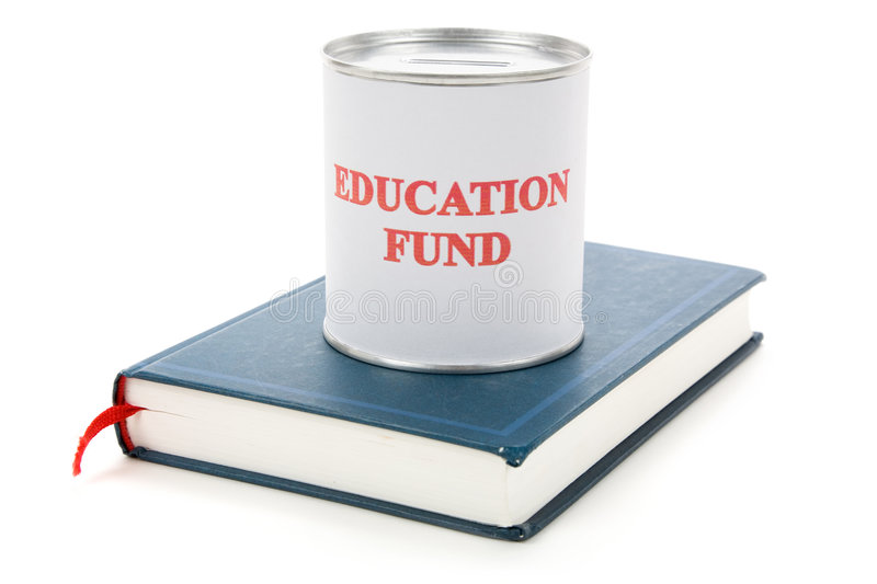 Download Education fund and book stock photo. Image of container - 6516194