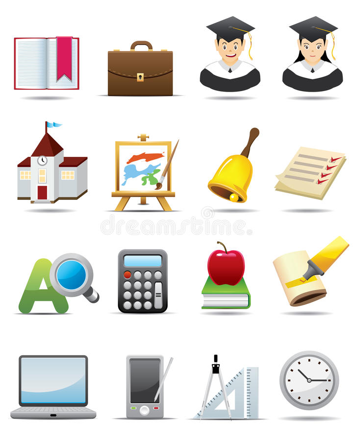 Education Icon stock illustration