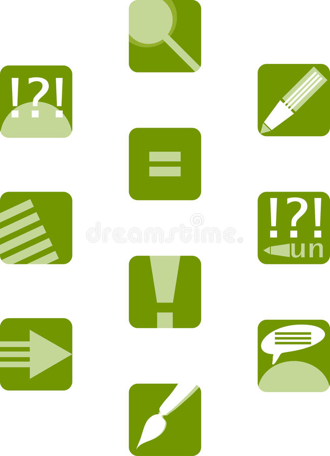 Download Education icon set stock vector. Illustration of design - 16232930