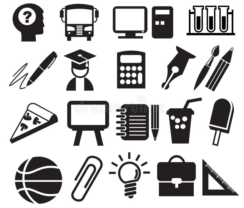 Download Education Icons Royalty Free Stock Photos - Image: 24939058