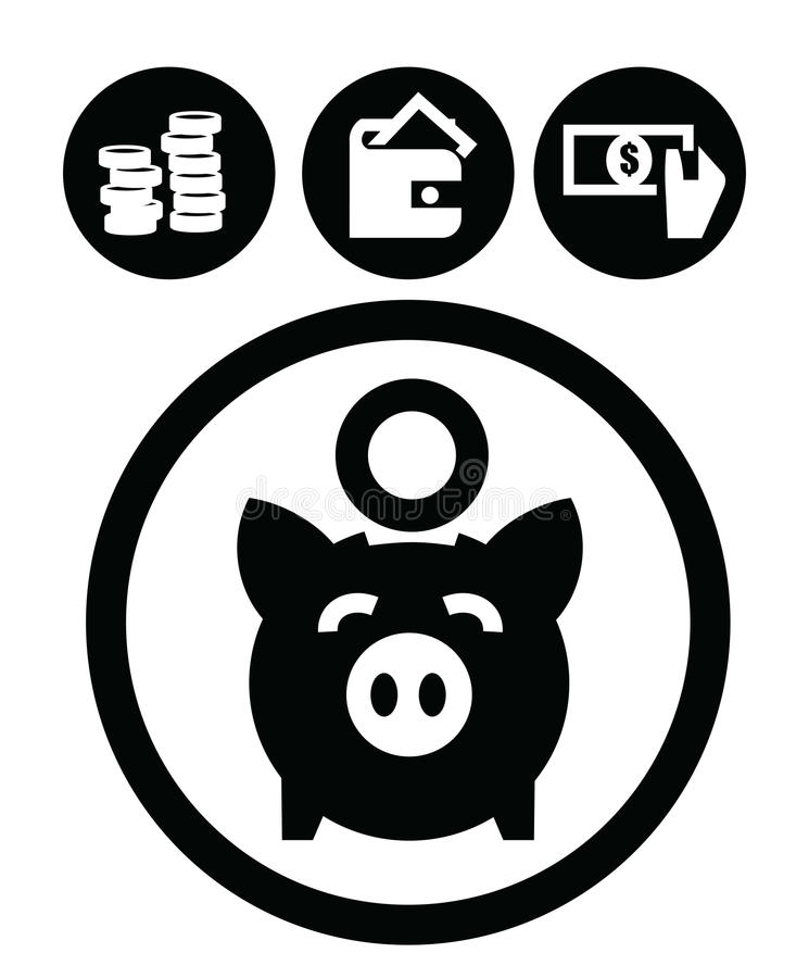 Download Education icons stock vector. Image of cash, coin, finance - 28826284