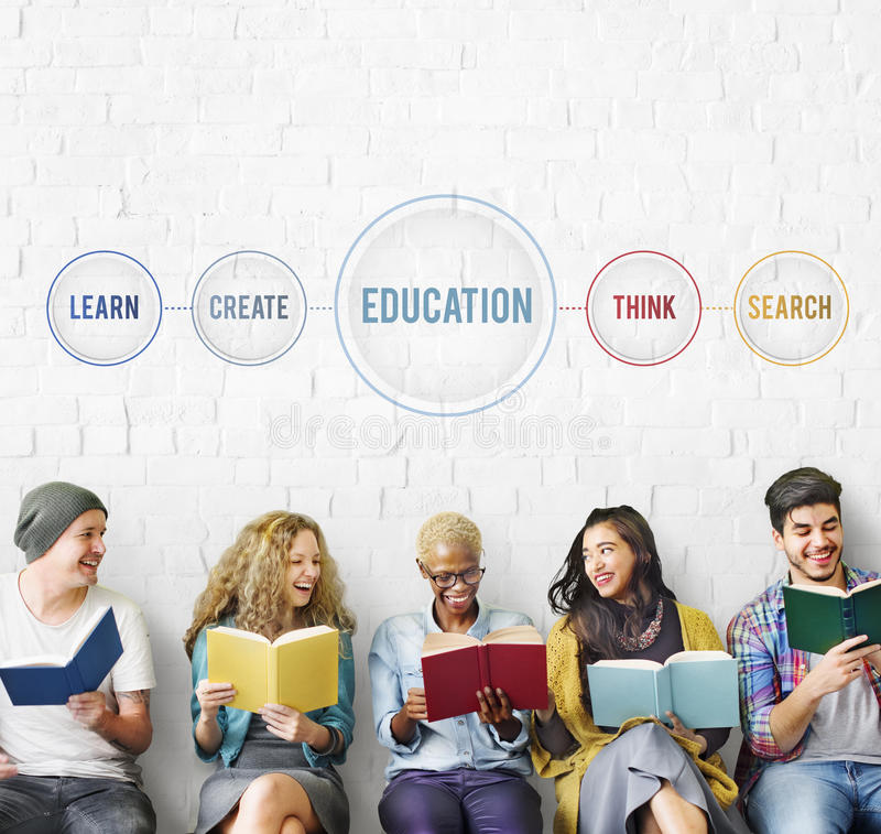 Education Learn Design Knowledge Intelligence Concept. Business Education Learn Creative Concept stock photography
