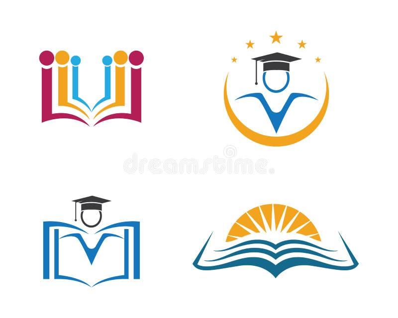 Education Logo Template royalty free illustration