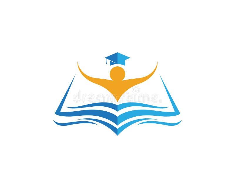 Education Logo Template vector illustration