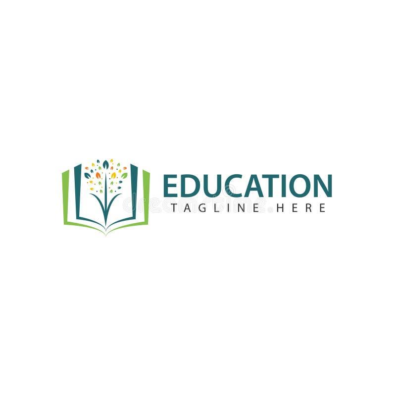 Education Logo Vector Template Design Illustration royalty free illustration