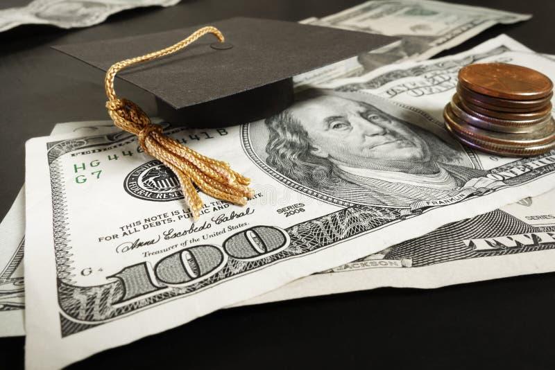 Education money stock photos