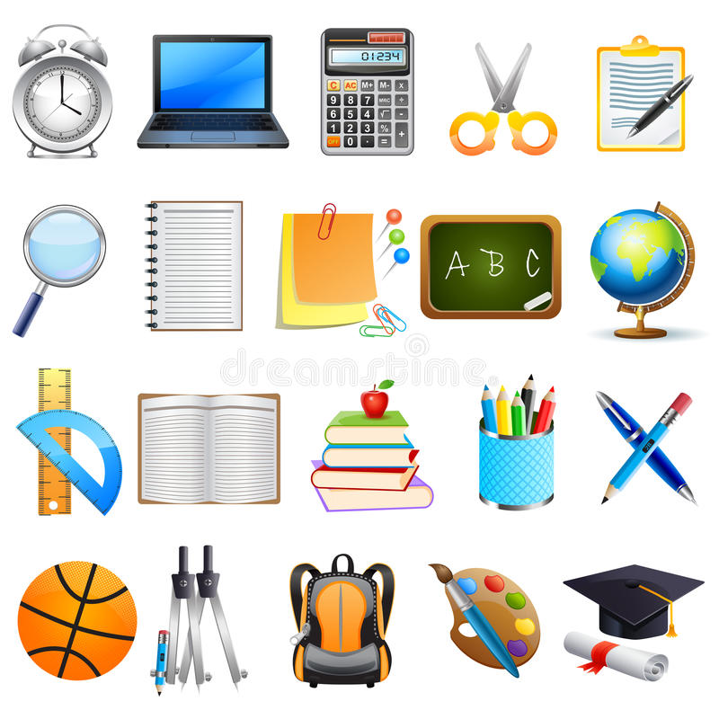 Download Education Object stock vector. Illustration of collection - 29518607