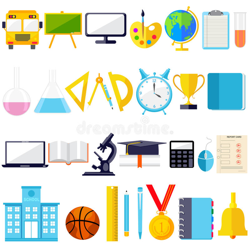 Education Object Icon Stock Vector