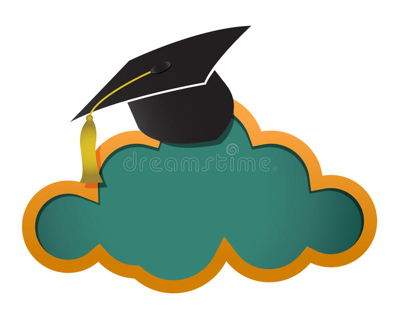 Download Education Online Cloud Board Stock Illustration - Image: 28721385