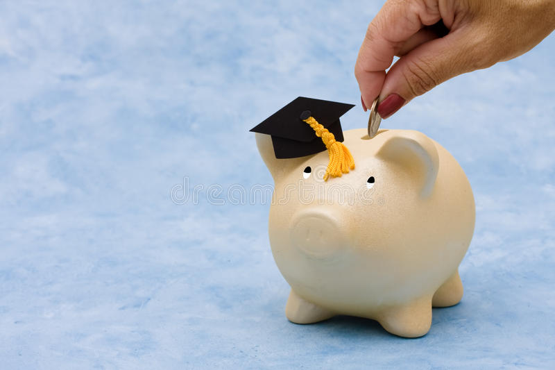 Education Savings royalty free stock photos