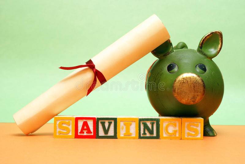 Education Savings royalty free stock images