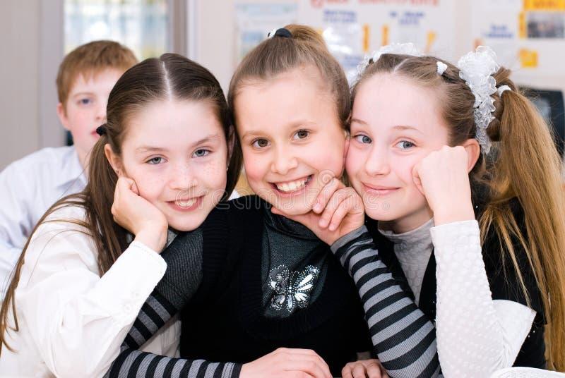 Education. School concept. Back to School - Students in the Class - Education Concept - School Life royalty free stock photo