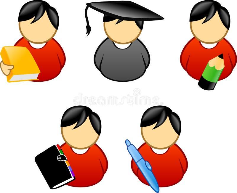 Education school element. Education - school icon/symbol series