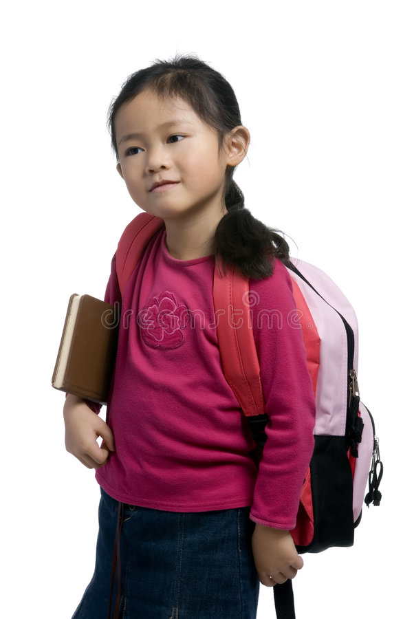 Education Series (backpack) royalty free stock photos
