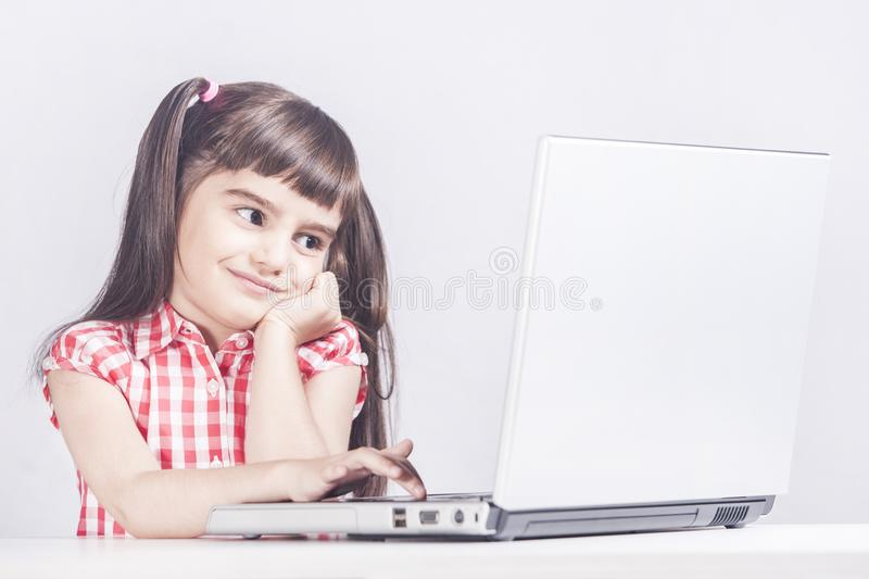 Education, technology and e-learning concept royalty free stock photo