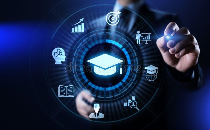 Education technology E-learning Online Training Webinar Seminar Knowledge Business Personal Development. stock illustration