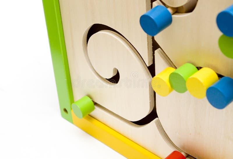 Education toy. On white background stock photos