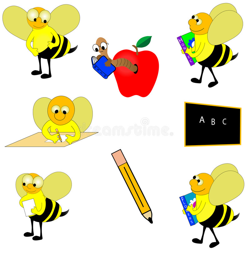 Download Educational Design Elements. Stock Illustration - Image: 2899620