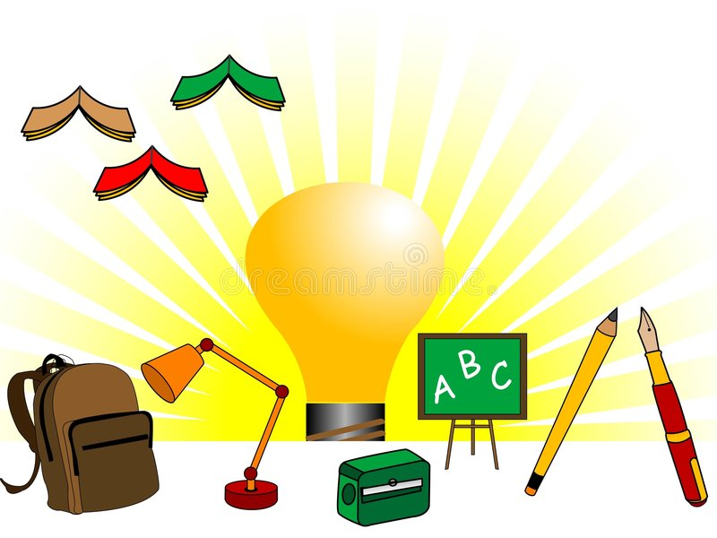 Download Educational things stock illustration. Image of education - 5454381
