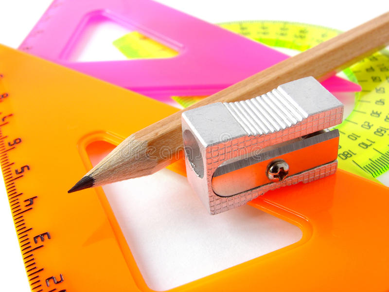 Download Educational tools set stock photo. Image of colorful - 10674480