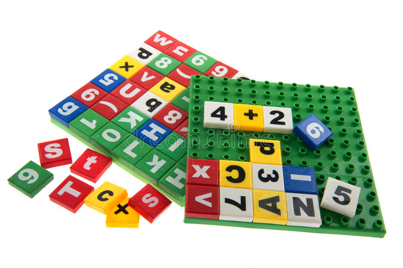 Download Educational toys stock image. Image of letters, white - 18220247
