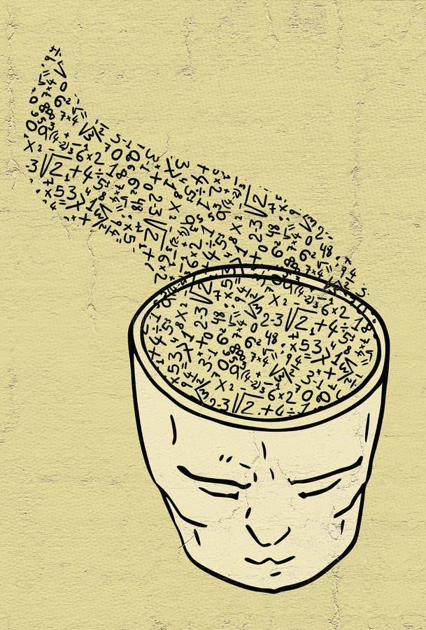 Educative thinking face. Design of educative thinking face vector illustration