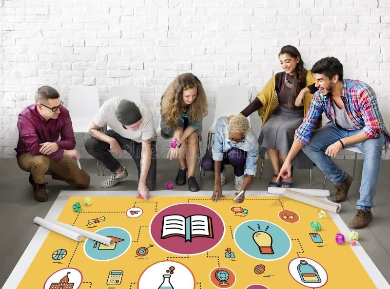 Edukaci nauki uczenie wiedzy klasy pojęcie zdjęcie stock