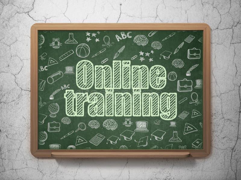 Edukaci pojęcie: Online szkolenie na zarządzie szkoły zdjęcie royalty free