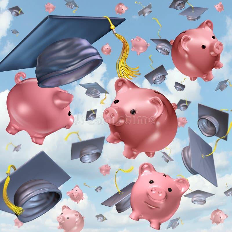 Edukacj savings royalty ilustracja