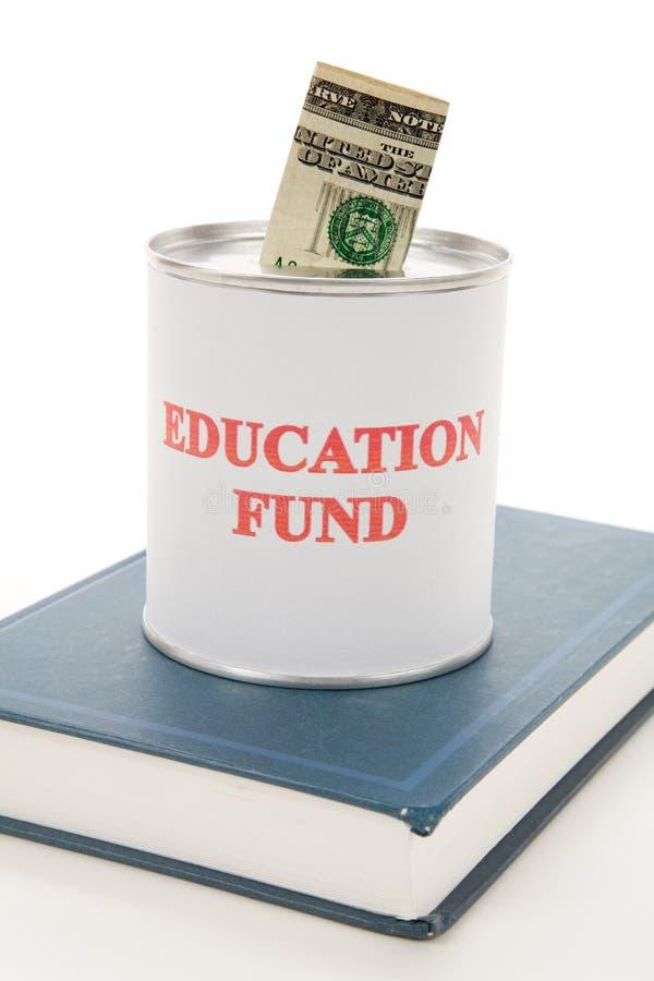 edukacja fundusz fotografia stock